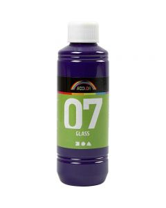 A-Color Lasimaali, punaviol., 250 ml/ 1 pll