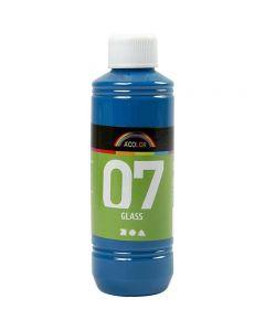 A-Color Lasimaali, turkoosi, 250 ml/ 1 pll