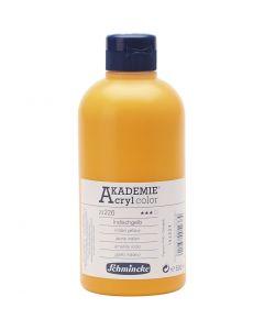 Schmincke AKADEMIE® Akryylimaali, kuulto, indian yellow (226), 500 ml/ 1 pll