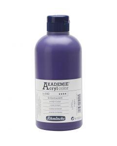 Schmincke AKADEMIE® Akryylimaali, kuulto, brilliant violet (440), 500 ml/ 1 pll