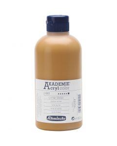 Schmincke AKADEMIE® Akryylimaali, peittävä, yellow ochre (661), 500 ml/ 1 pll