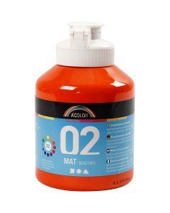 A-Color readymix-maali, matt, oranssi, 500 ml/ 1 pll