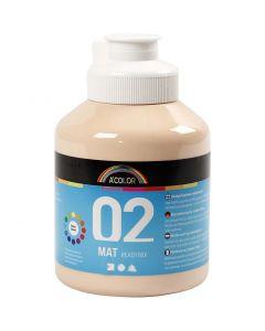 A-Color readymix-maali, matt, vaalea puuteri, 500 ml/ 1 pll