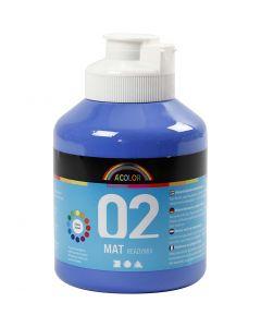 A-Color readymix-maali, matt, sininen, 500 ml/ 1 pll