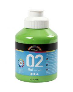 A-Color readymix-maali, matt, vaaleanvihreä, 500 ml/ 1 pll