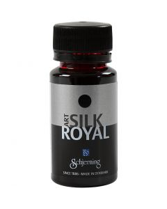 Silkkiväri Silk Royal, punainen, 50 ml/ 1 pll