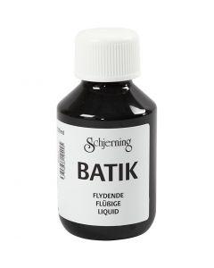 Tekstiiliväri, musta, 100 ml/ 1 pll