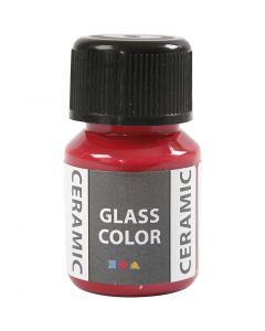Glass Ceramic, karmiininpun., 35 ml/ 1 pll