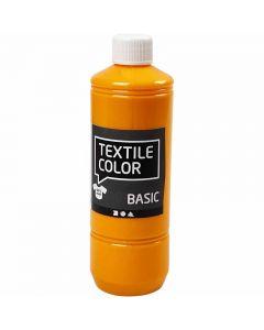 Textile Color, keltainen, 500 ml/ 1 pll