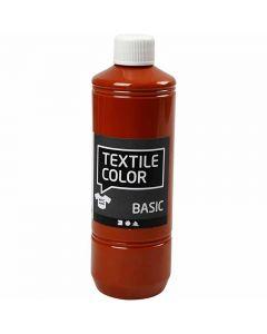 Textile Color, tiilenpun., 500 ml/ 1 pll