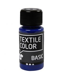 Textile Color, perussininen, 50 ml/ 1 pll