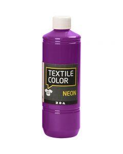 Textile Color, neonvioletti, 500 ml/ 1 pll