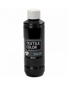 Textile Color Solid, peittävä, musta, 250 ml/ 1 pll