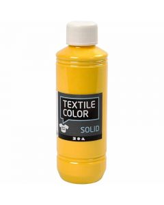 Textile Color Solid, peittävä, keltainen, 250 ml/ 1 pll
