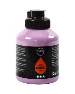 Pigment Art School, peittävä, violetti, 500 ml/ 1 pll