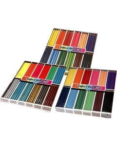 Colortime-värikynät, värilajitelma, 576 kpl/ 1 pkk