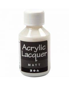 Akryylilakka, matt, 100 ml/ 1 pll