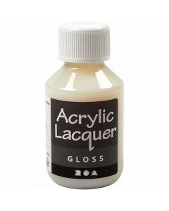 Akryylilakka, kiiltävä, 100 ml/ 1 pll