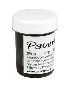Pavercolor, musta, 40 ml/ 1 tb