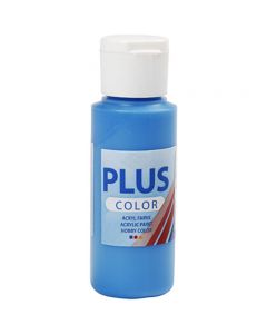 Plus Color- askartelumaali, perussininen, 60 ml/ 1 pll