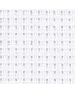 Aida-kangas, koko 50x50 cm, 24 ruutua per 10 cm, valkoinen, 1 kpl