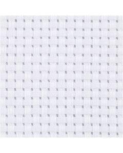 Aida kangas, Lev: 150 cm, 35 ruutua per 10 cm, valkoinen, 3 m/ 1 kpl