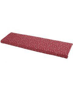 Puuvillakangas, Lev: 145 cm, 140 g, punainen, 10 m/ 1 rll