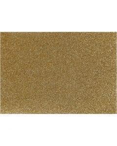 Silityskalvo, 148x210 mm, kimalle, kulta, 1 ark
