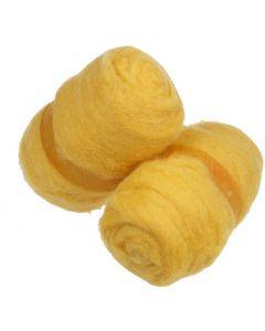 Karstattu villa, keltainen, 2x100 g/ 1 kerä