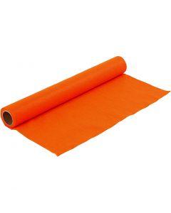 Askarteluhuopa, Lev: 45 cm, paksuus 1,5 mm, 180-200 g, oranssi, 1 m/ 1 rll
