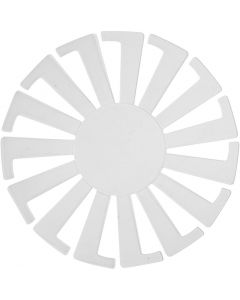 Korinpunontapohja, Kork. 6 cm, halk. 8 cm, kuulto, 10 kpl/ 1 pkk