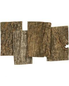 Kaarnalevyt, koko 9,5x6,5 cm, paksuus 1-4 mm, 340 g/ 1 pkk