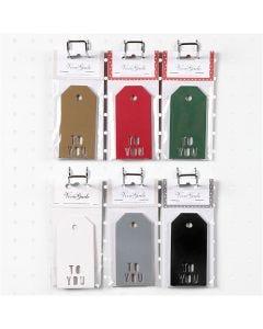 Pakettietiketit, TO YOU, koko 5x10 cm, 300 g, 6x10 pkk/ 1 ltk