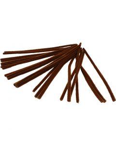 Askartelupunokset, Pit. 30 cm, paksuus 9 mm, ruskea, 25 kpl/ 1 pkk