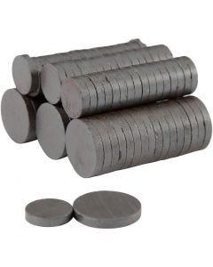 Magneettinappi, halk. 14+20 mm, paksuus 3 mm, 2x250 kpl/ 1 pkk