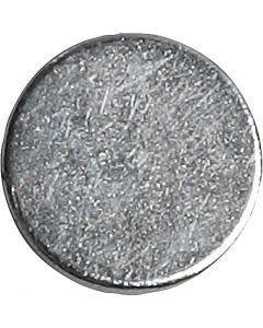Magneettinappi, halk. 10 mm, paksuus 2 mm, 10 kpl/ 1 pkk
