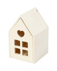 Talo laatikolla, Kork. 10,8 cm, syvyys 6,8 cm, 1 kpl