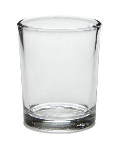 Tuikkulyhty, Kork. 6,5 cm, halk. 4,5-5,5 cm, 120 ml, 12 kpl/ 1 ltk