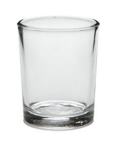 Tuikkulyhty, Kork. 6,5 cm, halk. 4,5 cm, 4 kpl/ 1 pkk