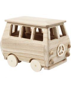 Minibussi, koko 17x10x13 cm, 1 kpl