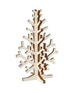 Kuusipuu, Kork. 12 cm, Lev: 7,5 cm, 1 kpl