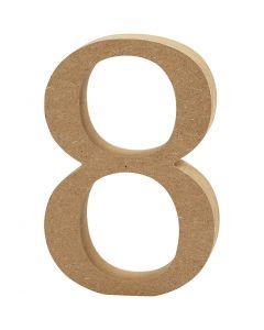 Numero, 8, paksuus 1,5 cm, 1 kpl