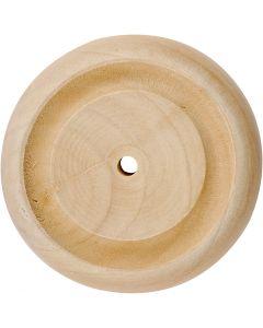 Puupyörä, halk. 50 mm, 4 kpl/ 1 pkk
