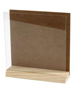 Taulupidike, koko 15x15 cm, 1 set