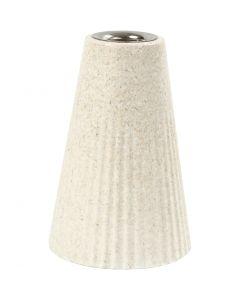 Kynttilänjalka, Kork. 13 cm, halk. 7 cm, 1 kpl