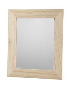 Kehystetty peili, koko 26x32 cm, 1 kpl