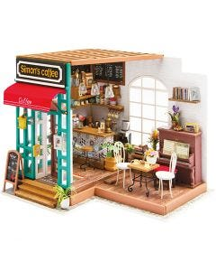 DIY minihuone, Kork. 19 cm, Pit. 22,6 cm, Lev: 19,4 cm, 1 kpl