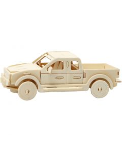 3D-palapeli, lava-auto, koko 19,5x8x12 cm, 1 kpl