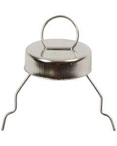 Metalliripustin, halk. 13 mm, 25 kpl/ 1 pkk
