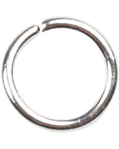Välirengas, koko 5,4 mm, paksuus 0,7 mm, hopeanväriset, 500 kpl/ 1 pkk